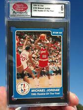 💎 1984 - 1985 XRC 🔥 PRE- RC 💎 STAR ROY #288 Michael Jordan SCD 6 UNDERGRADED!