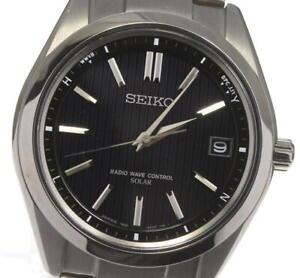 SEIKO Brights SAGZ083 7B24-0BH0 Solar Powered Radio Men's Watch_603181