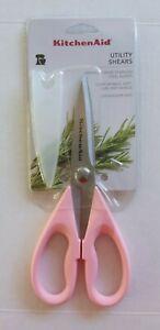Kitchen Aid All Purpose Kitchen Shears (Guava Glaze Pink) NEW KE351OHGGA