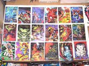 1995 Marvel Masterpieces EMOTION SIGNATURE PARALLEL CARD SINGLES! DEADPOOL! 11/1