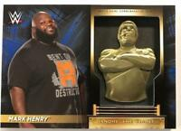 2018 Topps Road to WrestleMania Andre the Giant Trophy Relic Blue Pick From List