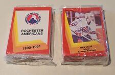 1990-91 Rochester Americans Amerks complete team set hockey cards AHL sabres