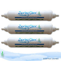 Water Gem Compatible In-Line Filter Cartridge from SpringClear Ltd 3 Pack