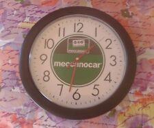Orologio pubblicita' MECCANOCAR