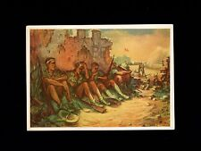 Germany Unused Postcard Africa Corps Soldiers Luftgaukommandos Expo c1942  7p