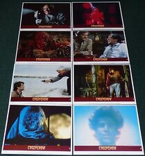 CREEPSHOW 1982 ORIGINAL LOBBY CARD SET OF 8 STEPHEN KING GEORGE A ROMERO HORROR