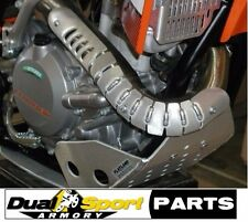 KTM 12-16 450 500,450 EXC,HUSQVARNA 501FE-EXHAUST HEADER PIPE GUARD-Dirt Bike