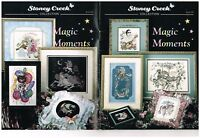 MAGIC MOMENTS  - STONEY CREEK CROSS STITCH BOOK