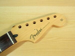 "Fender Deluxe Player Stratocaster Neck Fender 12"" Real Rosewood Strat Neck"