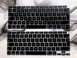 "2020 UK EU Soft Silicone Keyboard Cover For Macbook Air 13"" A1932 A2179 A2337 M1"