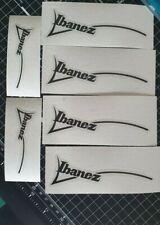 Ibanez vinyl decals, stickers.