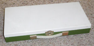 Smith-Victor Metal Slide File / Case ~ Content Included