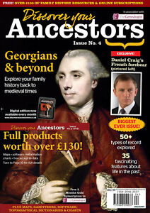 Discover Your Ancestors Issue 4 - Family History / Genealogy Magazine