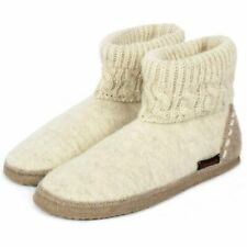 Giesswein Ladies Slippers Boots with Cover Beige Gr.40