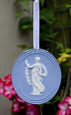 WEDGWOOD JASPER WARE ANNUAL 2015 CAMEO CHRISTMAS TREE ORNAMENT DECORATION