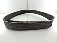 Unmarked Hook Amp Loop Black Basketweave Police Inner Duty Belt 41 Long