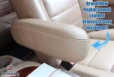2000 F250 F350 4x4 Lifted Lift Kit Rims PASSENGER Side Leather Armrest Cover Tan
