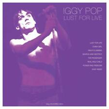 Iggy Pop Lust for Live 180g Coloured Vinyl LP Record China Girl and More