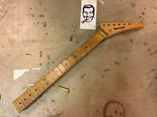 90's Warmoth Explorer Electric Guitar Neck Maple