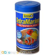 Tetra Marine Saltwater Flakes 1.84oz (52g) Fish Food Clean Clear Water Formula