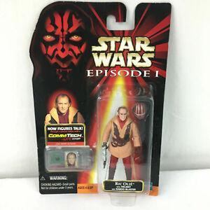 Ric Olie Action Figure Star Wars Episode 1 CommTech NEW MOC Star Case ERROR