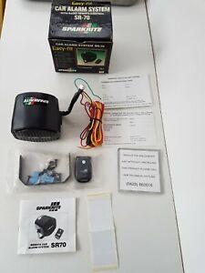 Vintage Sparkrite SR-70 Car Alarm System Unused Boxed Easy Fit