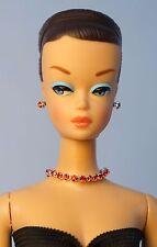 Barbie Repro FR Handmade Necklace Earrings Bracelet Rhinestone Jewelry NE1463