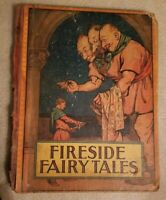 Antique Vintage Book Fireside Fairy Tales Whitman Publishing Co. The Bluebird