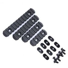 Tactical Rifle Polymer 20mm Picatinny Weaver Rail Section Set for MOE Hand Guard