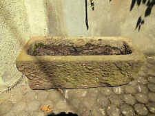 Antiker Brunnen Gossenstein Pumpenstein Trog L 85 cm Sandstein 100 Jahre alt Tei