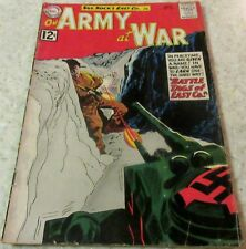 Our Army at War 120, (VG+ 4.5) 1962 Kubert art! 40% off Guide!