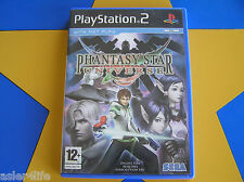PHANTASY STAR UNIVERSE - PLAYSTATION 2 - PS2