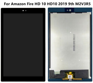 For Amazon Fire HD 10 HD10 2019 9th M2V3R5 LCD Display Touch Screen Assembly