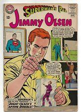 "SUPERMAN'S PAL JIMMY OLSEN #83 DC, March 1965 ""Jimmy Olsen's Captive Double!"""