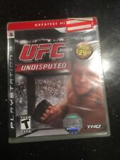 UFC Undisputed 2009 (Sony PlayStation 3, 2009) NEW PS3 Greatest Hits Sealed