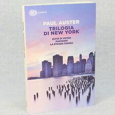 Paul Auster TRILOGIA DI NEW YORK ed. Super ET/Einaudi cop. morbida