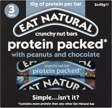 Eat Natural Protein Packed Bars with Peanut & Chocolate 3x3x45g