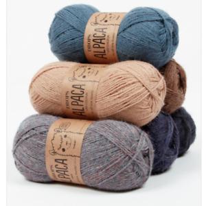 Drops Alpaca 4ply Knitting Yarn 100% Soft Peruvian Alpaca Soft Sock Wool Crochet