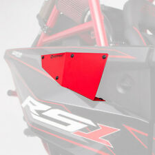 HMF Racing IQ Equipment Radiator Scoops Red Polaris RZR RS1 9356984566