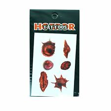 Sores Temporary Tattoo Halloween Scary Dress up Costume Party Fun