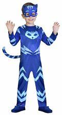 Kids Boys Girls PJ Masks Blue Catboy Fancy Dress Costume 2-3yrs