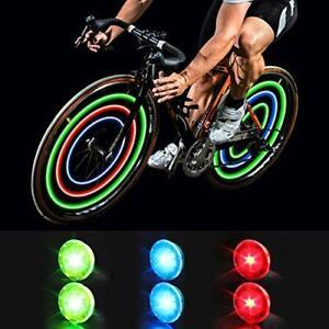 MapleSeeker Bike Wheel Lights Spoke with 6-Pack Multi-color