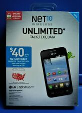 "NEW - NET 10 WIRELESS LG OPTIMUS FUEL ANDROID 3.5"" TOUCHSCREEN,  camera"