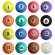 "250 27mm 1"" Pool Bouncy Balls Mixed With Cue"
