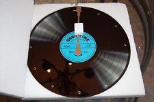 "Kasa Elements  13.5"" Blue Record  Good Times Vinyl Wall Clock Record NIB"