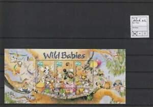 Australië postfris 2001 MNH block 42 - Wild Babies (X147)