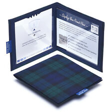 Disabled Blue Badge Holder in Blackwatch Tartan - Hologram Safe Permit Cover