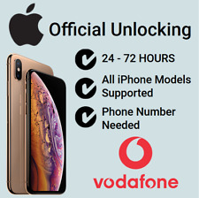 Factory Unlock Service For iPhone 4 5 5S 5C SE 6 6+ 6S 6S+ 7 Plus Vodafone UK