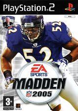 Madden NFL 2005 PS2 (Playstation 2) - Free Postage - UK Seller