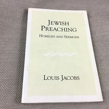 Vintage Jewish Book Theology Religion Sermons Rabbi Louis Jacobs Judaism